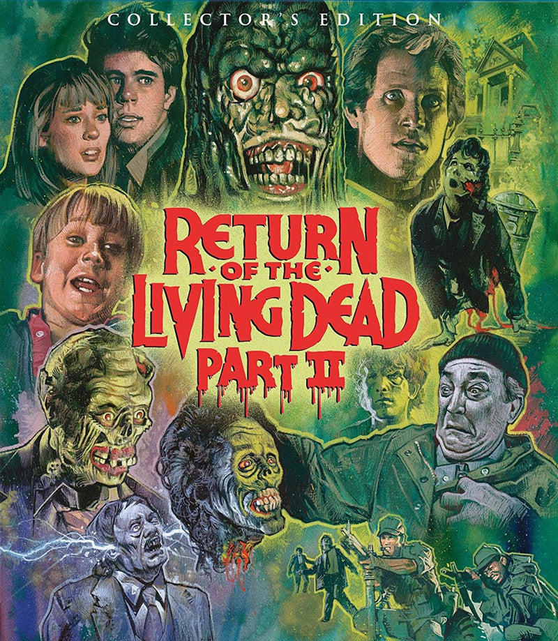 RETURN OF THE LIVING DEAD II (COLLECTOR'S EDITION) BLU-RAY