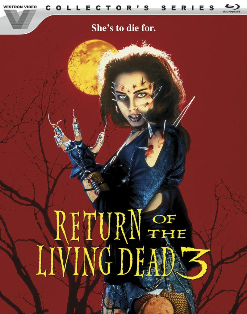 RETURN OF THE LIVING DEAD 3 BLU-RAY