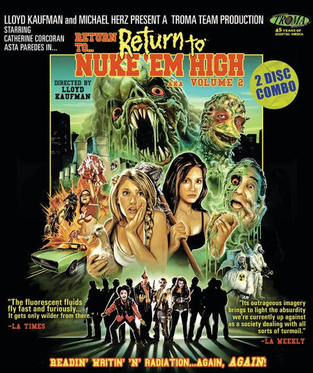 RETURN TO RETURN TO NUKE EM HIGH AKA VOLUME 2 BLU-RAY