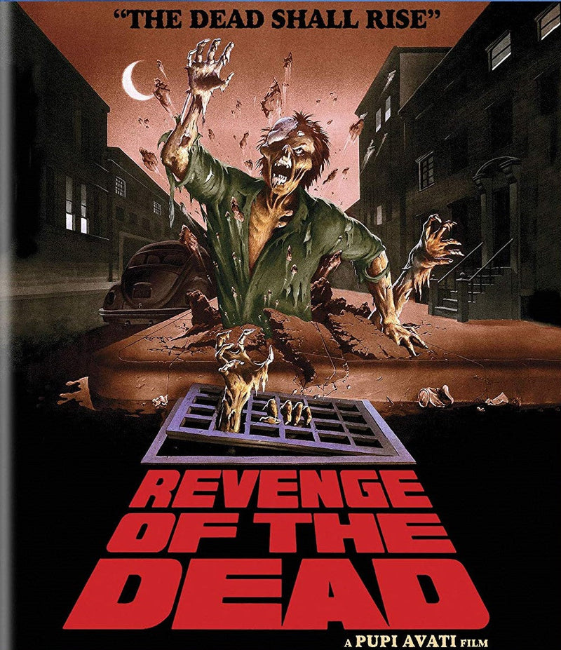 REVENGE OF THE DEAD BLU-RAY