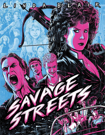 SAVAGE STREETS (LIMITED EDITION) BLU-RAY