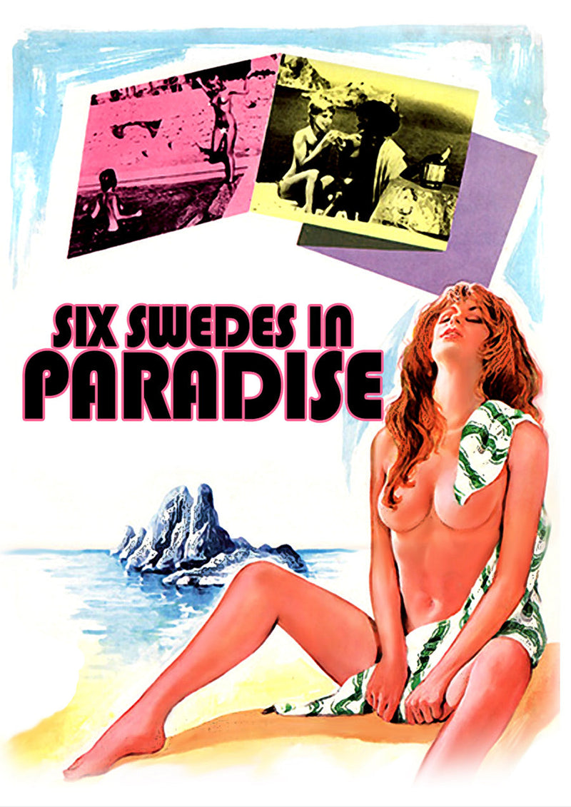 SIX SWEDES IN PARADISE DVD