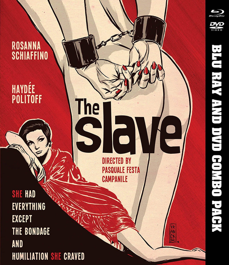 THE SLAVE BLU-RAY/DVD