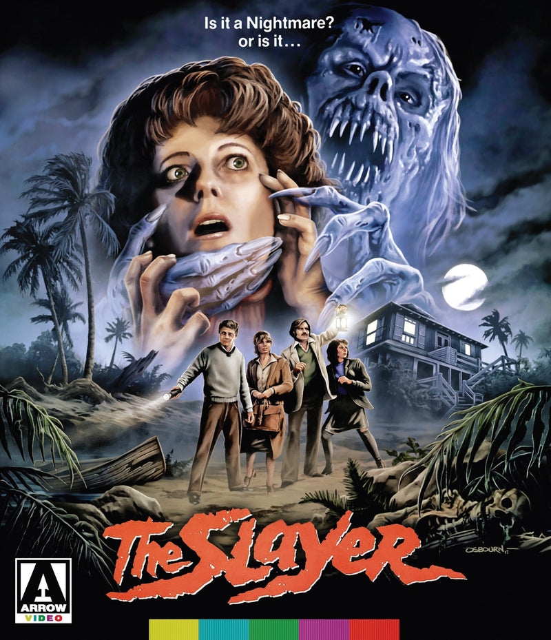 THE SLAYER BLU-RAY/DVD