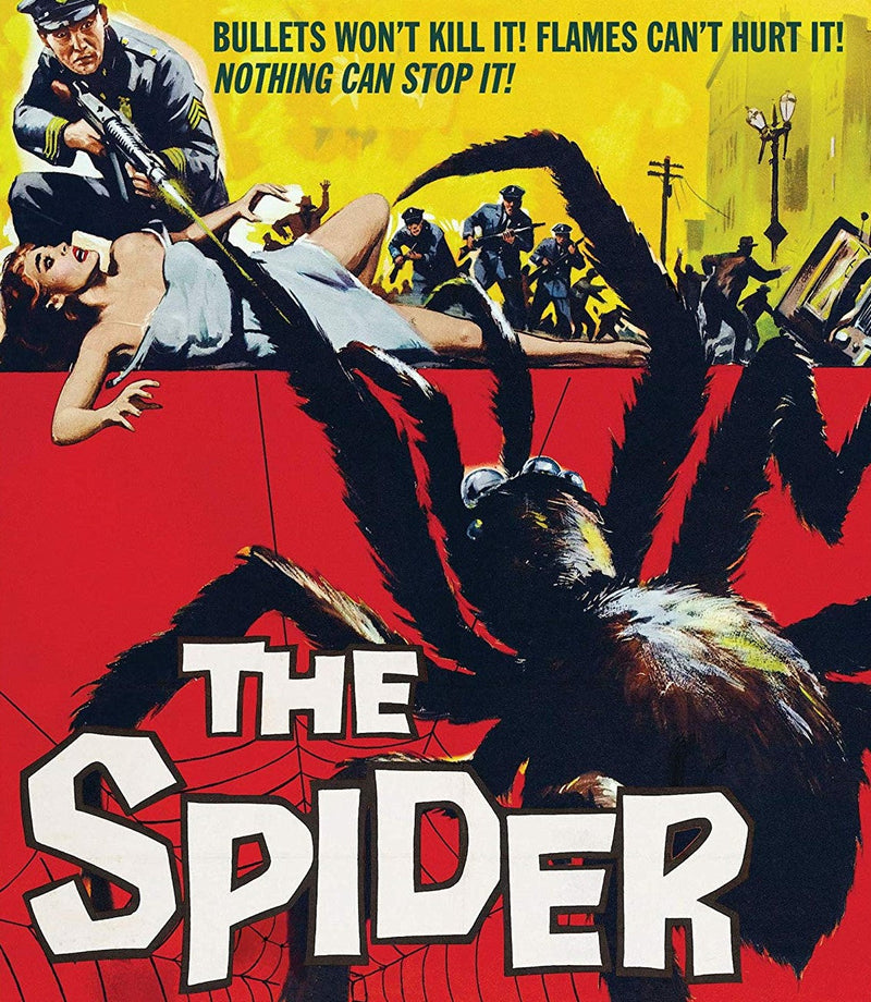 THE SPIDER BLU-RAY
