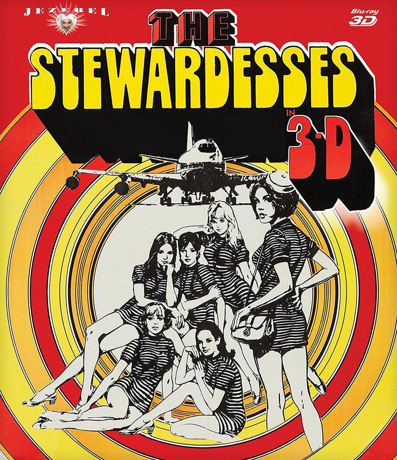 THE STEWARDESSES 3-D BLU-RAY