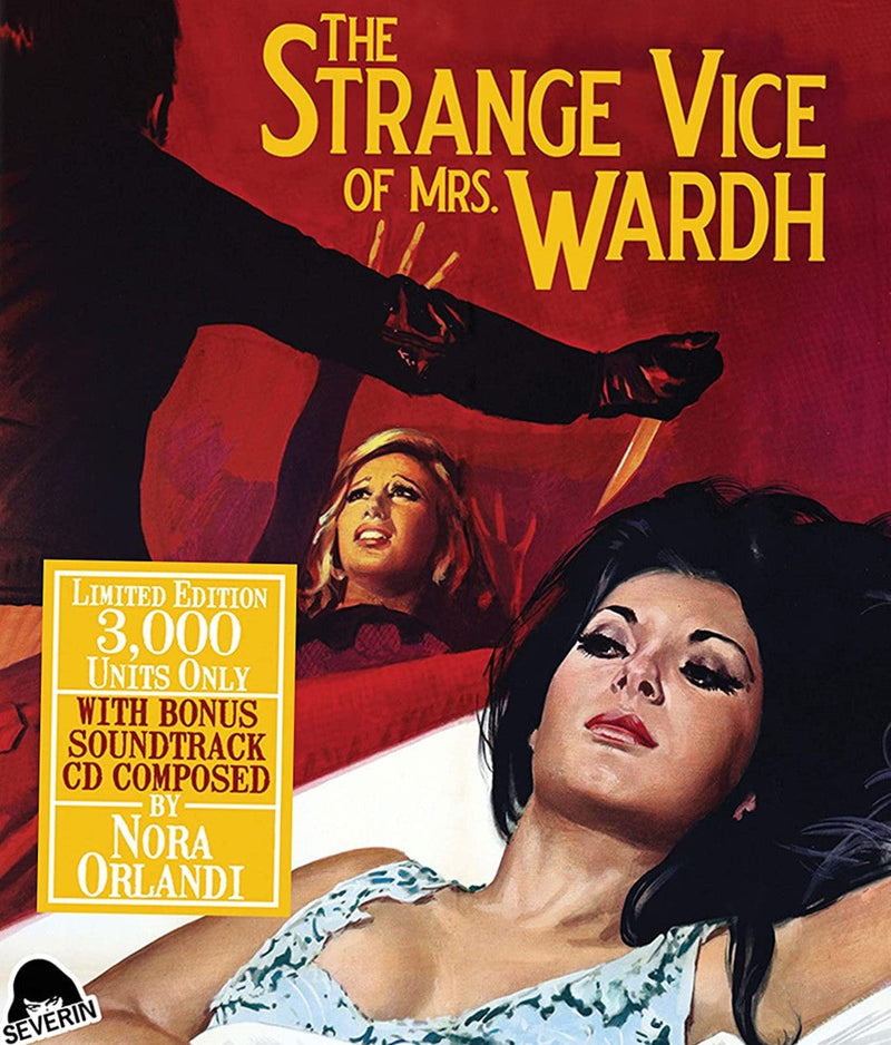 THE STRANGE VICE OF MRS WARDH (LIMITED EDITION) BLU-RAY/CD