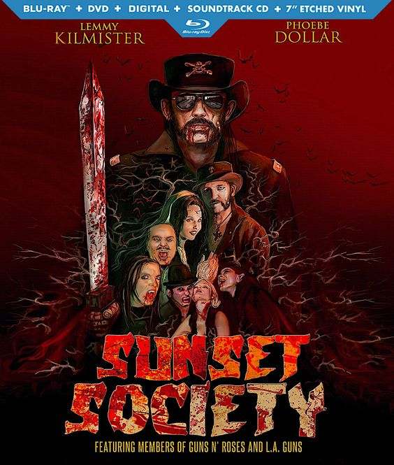 "SUNSET SOCIETY (LIMITED EDITION) BLU-RAY/DVD/CD/7"" VINYL"