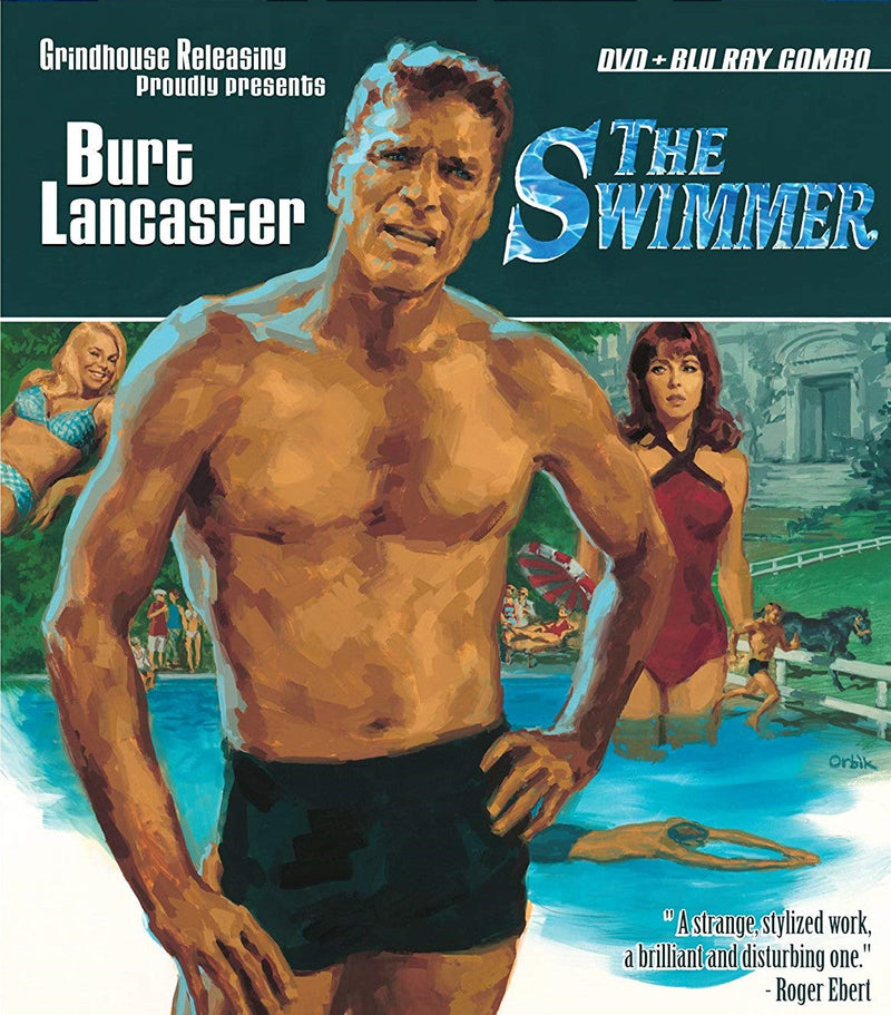 THE SWIMMER BLU-RAY/DVD