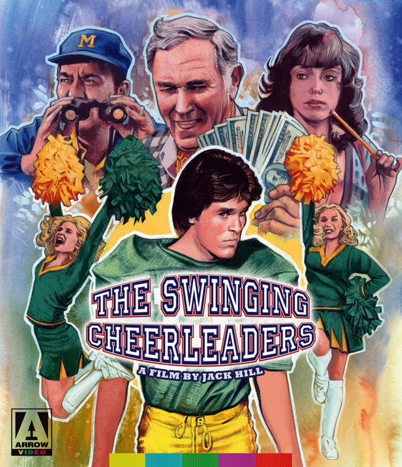 THE SWINGING CHEERLEADERS BLU-RAY/DVD