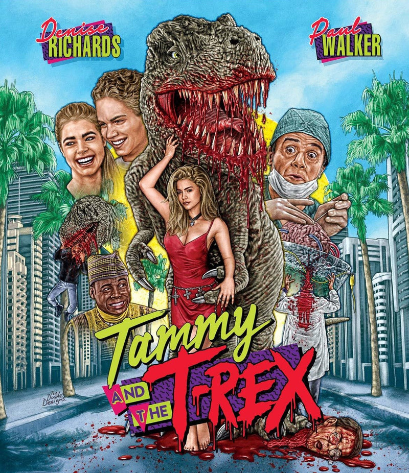TAMMY AND THE T-REX BLU-RAY/DVD