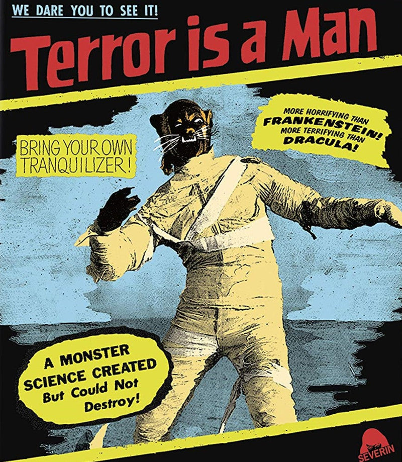 TERROR IS A MAN BLU-RAY