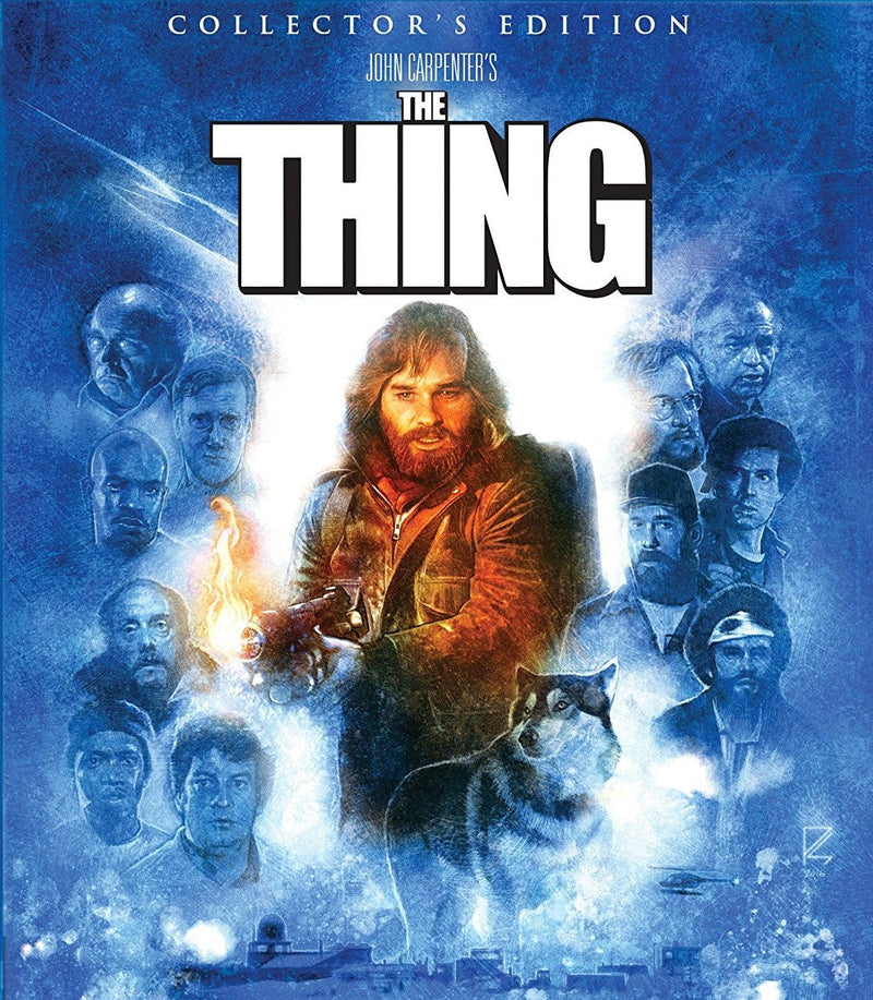 THE THING (COLLECTOR'S EDITION) BLU-RAY