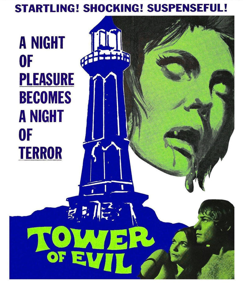 TOWER OF EVIL (LIMITED EDITION) BLU-RAY