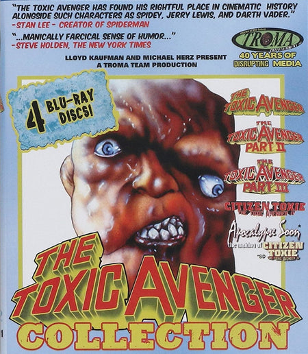 THE TOXIC AVENGER COLLECTION BLU-RAY