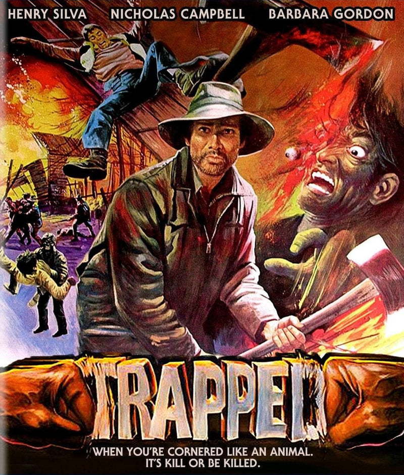 TRAPPED BLU-RAY