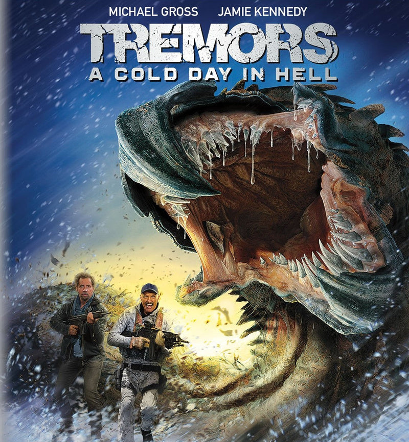 TREMORS: A COLD DAY IN HELL BLU-RAY/DVD