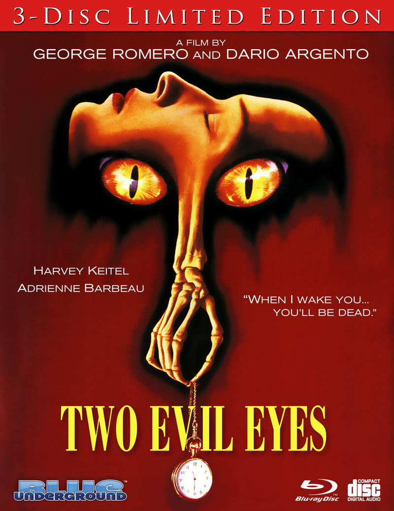 TWO EVIL EYES (LIMITED EDITION) BLU-RAY/CD