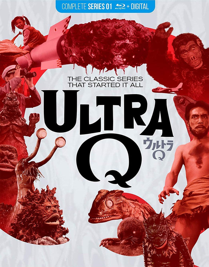 ULTRA Q: THE COMPLETE SERIES BLU-RAY