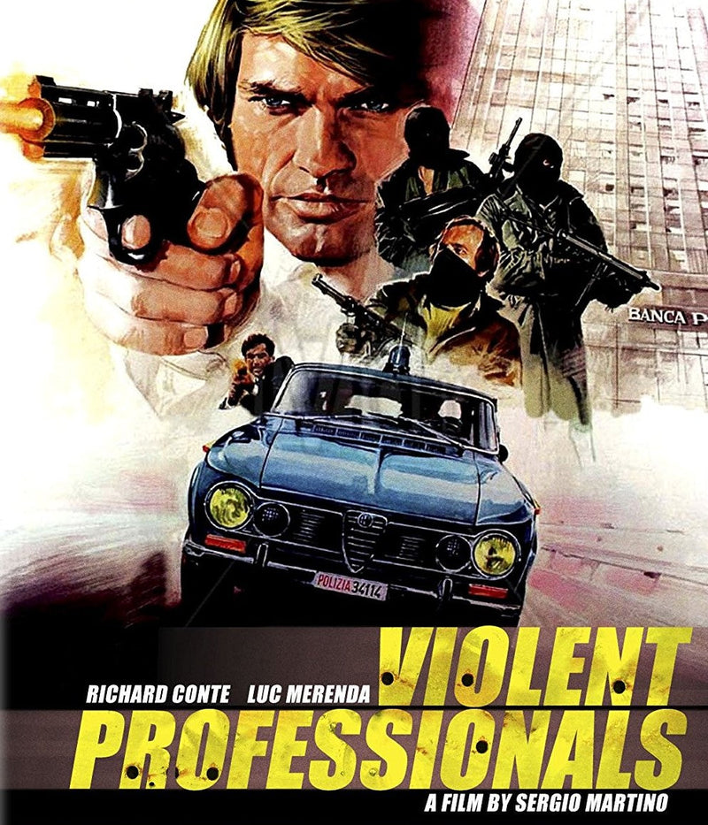 VIOLENT PROFESSIONALS BLU-RAY