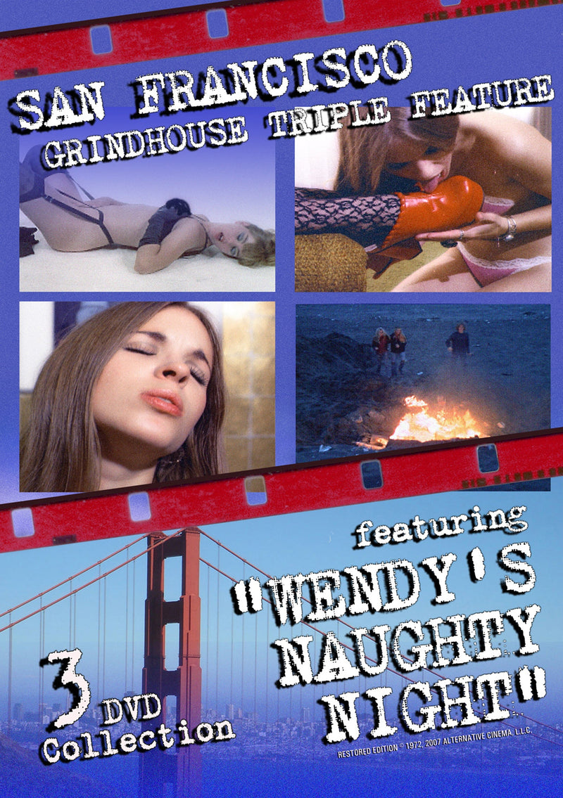 WENDY'S NAUGHTY NIGHT GRINDHOUSE TRIPLE FEATURE DVD