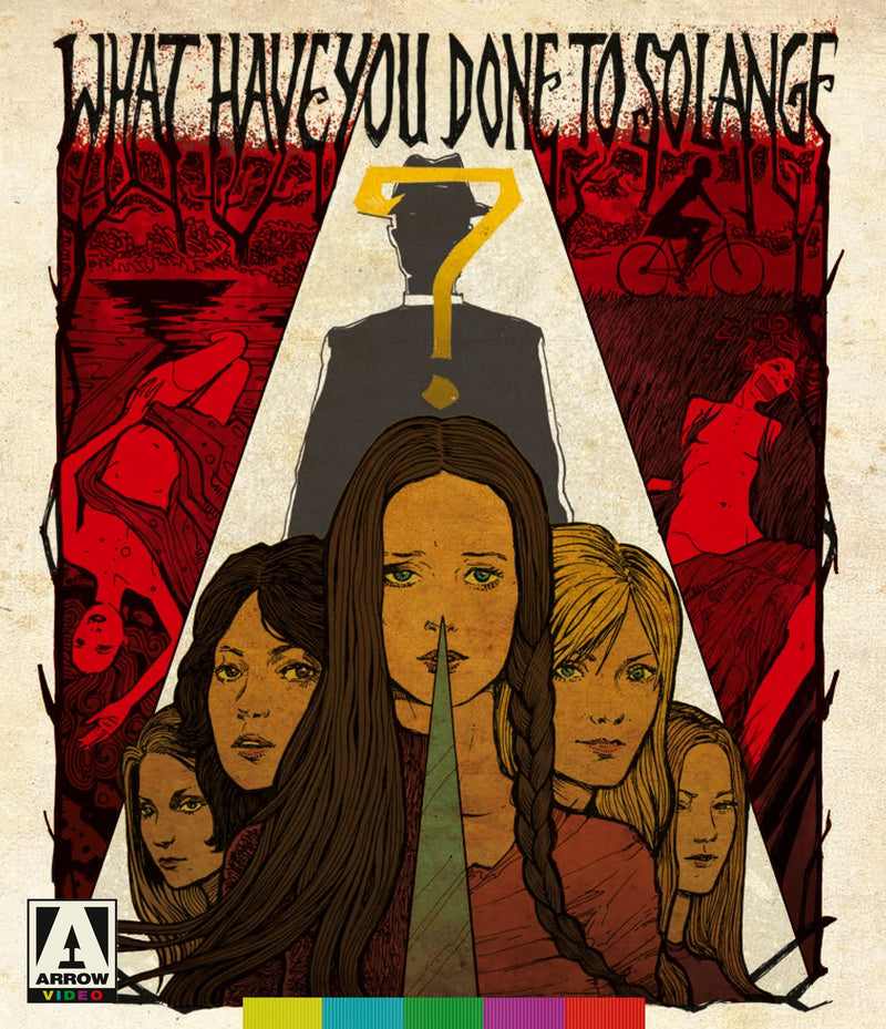 WHAT HAVE YOU DONE TO SOLANGE? BLU-RAY/DVD