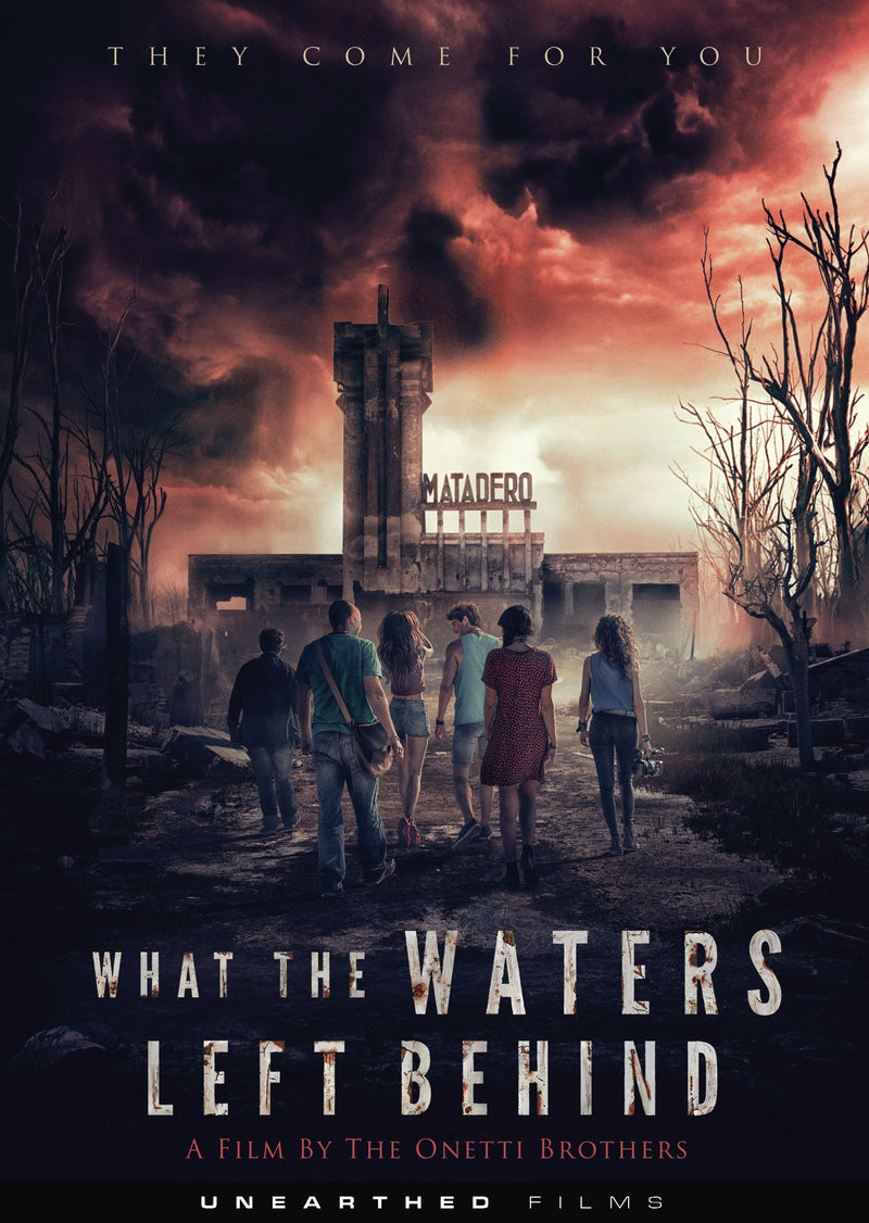 WHAT THE WATERS LEFT BEHIND DVD