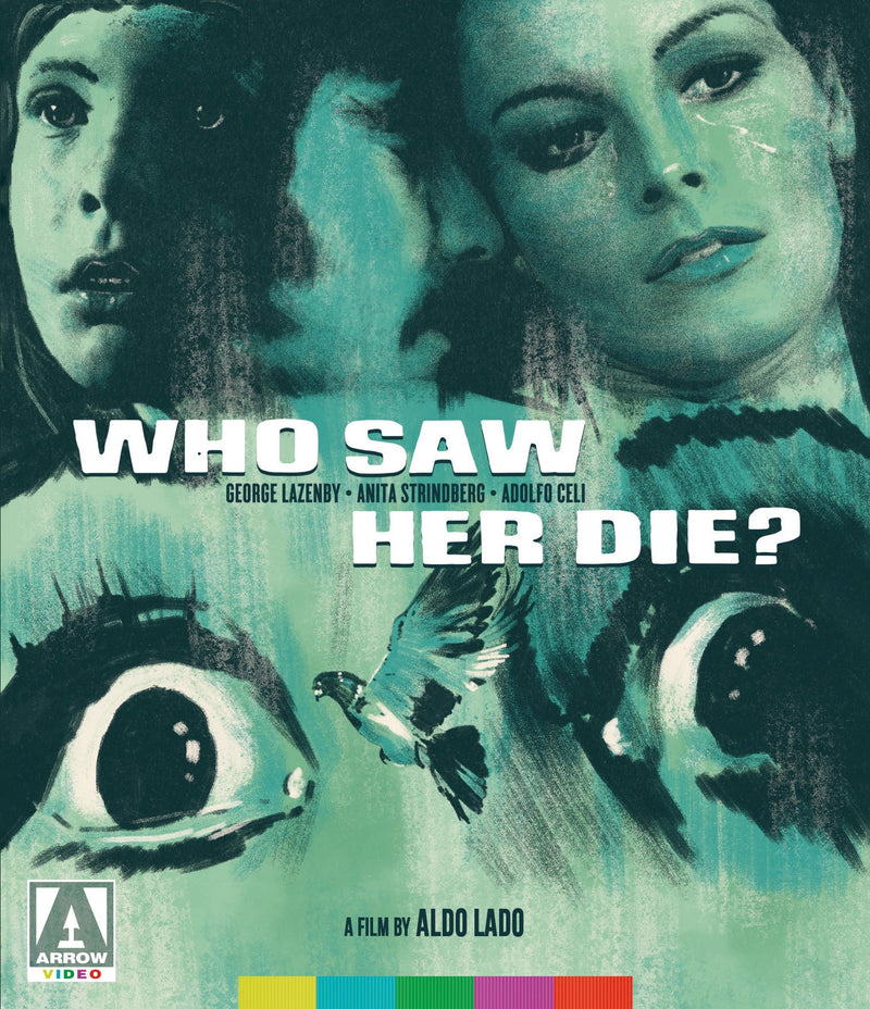 WHO SAW HER DIE? BLU-RAY