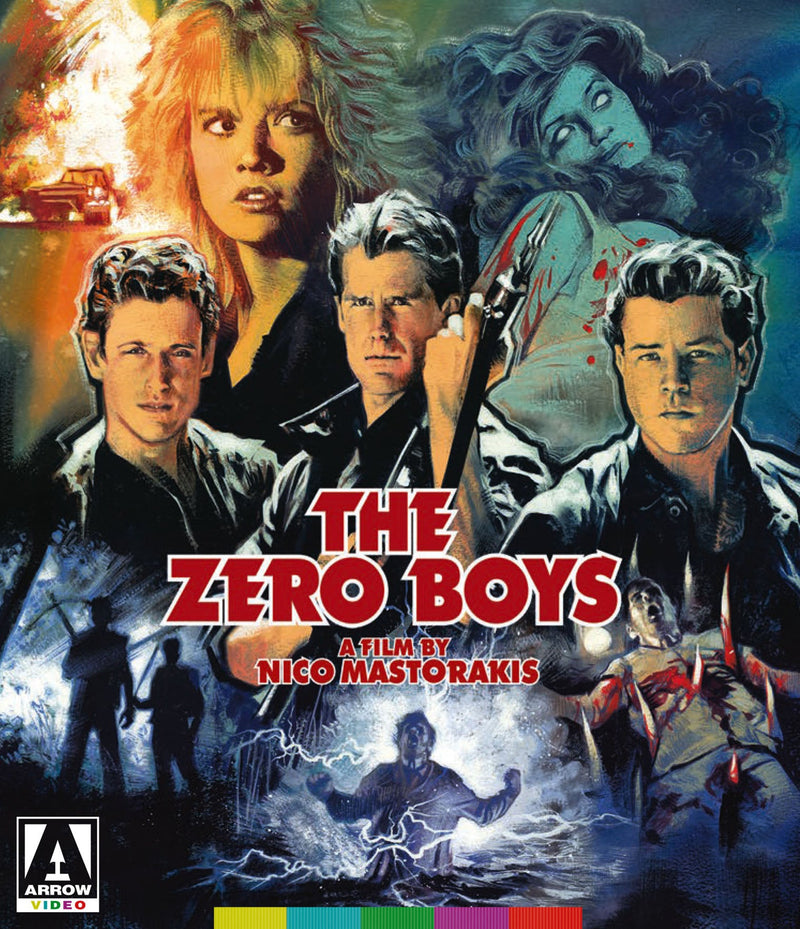 THE ZERO BOYS BLU-RAY/DVD