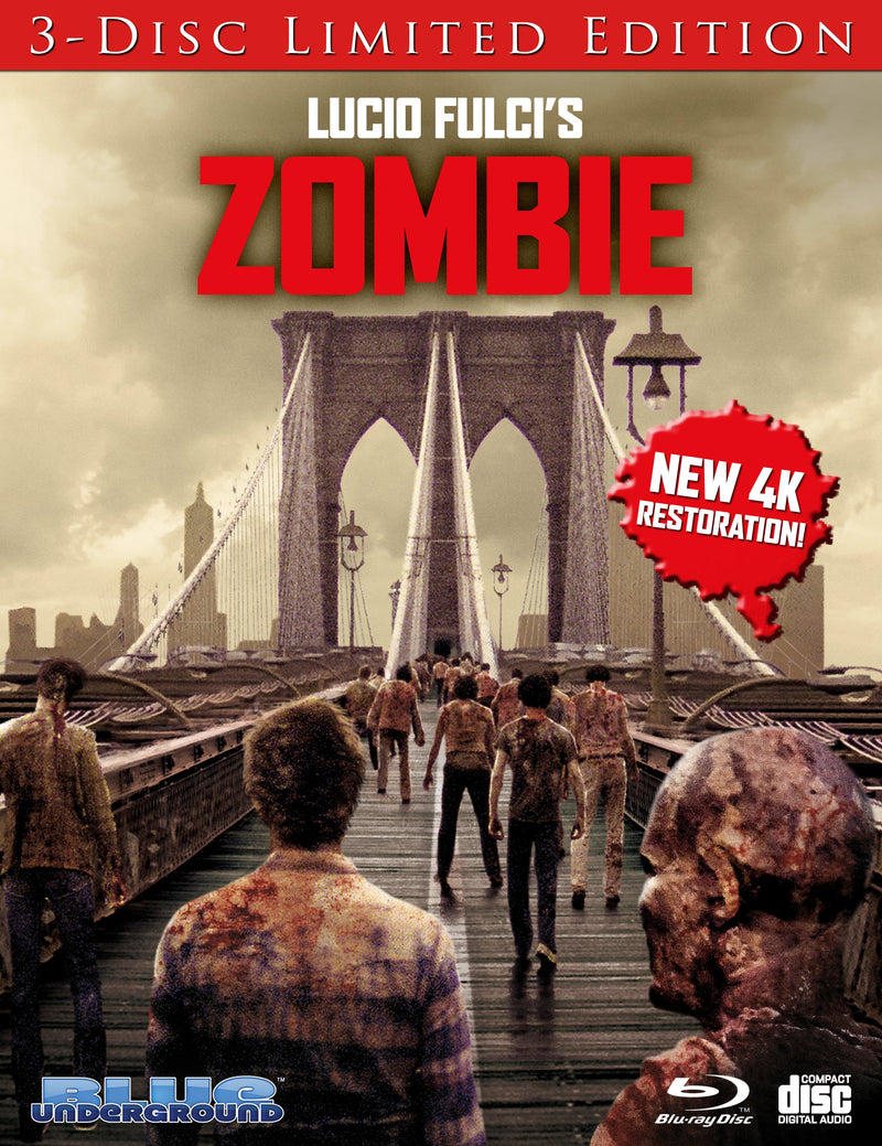 ZOMBIE (3-DISC LIMITED EDITION COVER A: THE BRIDGE) BLU-RAY/CD
