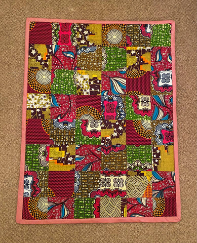 African Wax Print Quilts