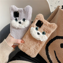 Load image into Gallery viewer, 3D Cat Plush Phone Case For iPhone