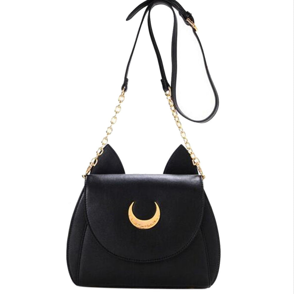 Moon cat Shoulder Bag For Women