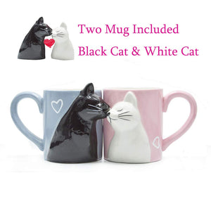 Kiss Cat Coffee Cup
