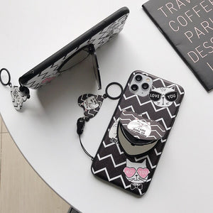 Mirror Phone Cat Case For IPhone/Samsug/Huawei