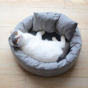New Cat Bed Grey