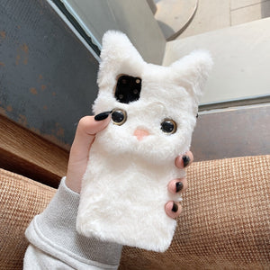 Plush Cat For iPhone Case