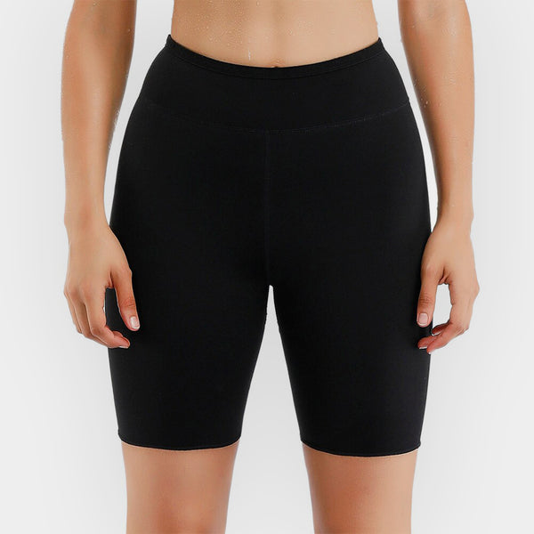 NEOPRENE SHORTS | HIGH WAIST
