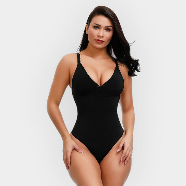 THONG SCULPTING BODYSUIT | OPEN BACK