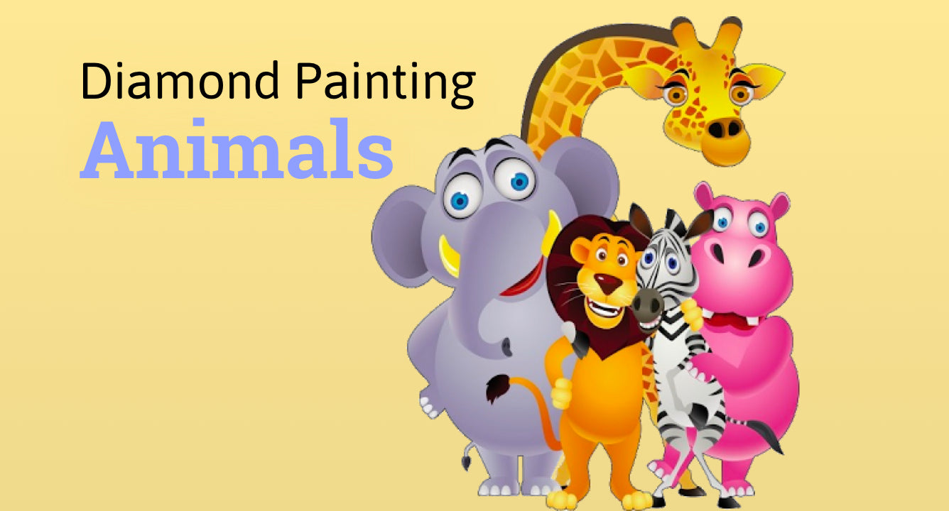 Diamond painting animals