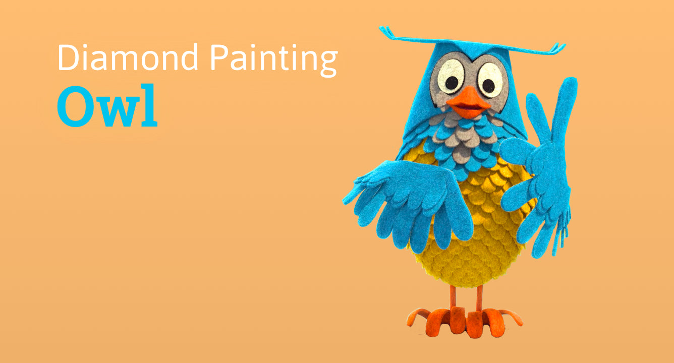 Diamond painting collection Owls