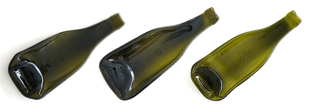 Variations due to different bottle shape