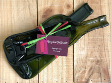 Load image into Gallery viewer, Get one of each: a flat and deep up cycled wine bottle dish