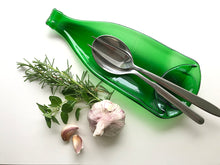 Load image into Gallery viewer, Pellegrino water bottle dish (green)