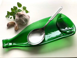 Pellegrino water bottle dish (green)
