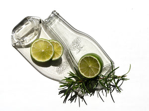 Fever-Tree bottle dish (duo, clear)