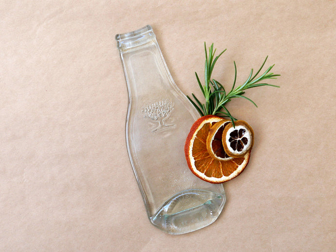 Fever-Tree bottle dish, up cycled Fever-Tree bottle