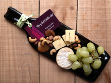 Load image into Gallery viewer, Red wine bottle cheese board