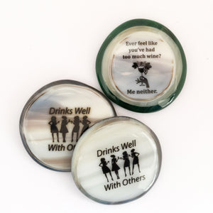 Magnets for wine lovers