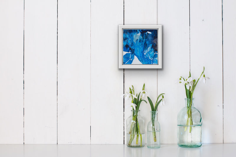 Blue art  for small spaces